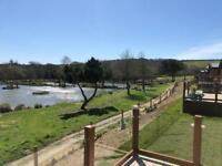 Luxury 22ft wide lodge for sale Cornwall Lake views NOT caravan devon dorset