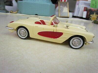 Vintage 1960 Corvette Convertible Model Car - No Box