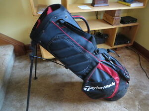 TAYLOR MADE bag & good clubs