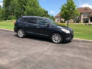 2014 Buick Enclave fully loaded with winter tires and rims