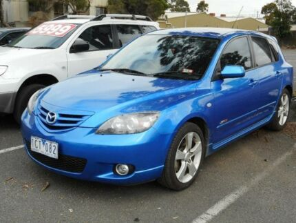 2004 Mazda 3 BK SP23 Blue 4 Speed Auto Activematic Hatchback Maidstone Maribyrnong Area Preview
