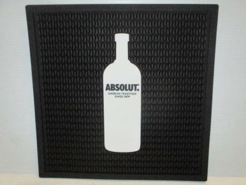 """New Absolute Vodka Bar Mats 14"""" x 14"""" Spill Drip"""