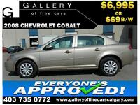 2008 Chevrolet Cobalt LT $69 bi-weekly APPLY TODAY DRIVE TODAY