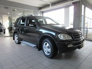 2004 Mercedes-Benz ML W163 350 Luxury (4x4) Black 5 Speed Auto Tipshift Wagon Thornleigh Hornsby Area Preview