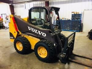 2012 Volvo MC110C Skid Steer with Attachments- LOW HOURS