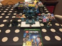 Xbox one Lego Dimensions starter set with Simpsons Lego pack
