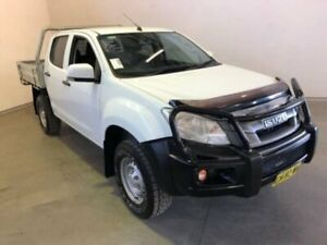 2016 Isuzu D-MAX MY15.5 SX CREW CAB White Manual Dual Cab Chassis Westdale Tamworth City Preview