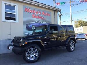 2012 Jeep Wrangler Unlimited ALTITUDE EDITION, 4X4, NAVIGATION!