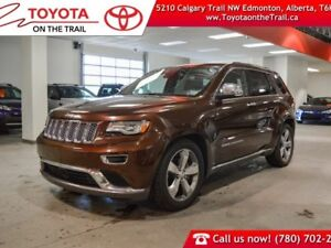 2014 Jeep Grand Cherokee Summit, Leather, Heated/cooled seats, S