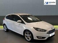 2016 Ford Focus ZETEC TDCI Diesel white Manual