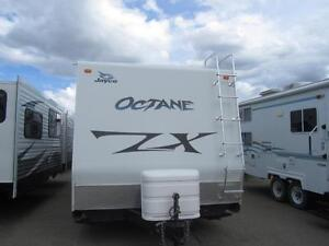 2013 30 FT JAYCO OCTANE ZX T26Y TOY HAULER TRAVEL TRAILER