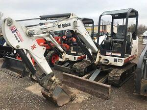 2009 Bobcat 331 Mini Excavator