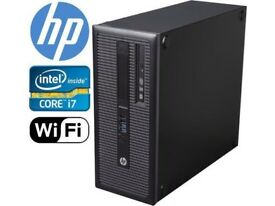 SALE HP EliteDesk 800 G1 Computer - Intel Core i7 i7-4770 16GB 500GB SSHD Tower 5