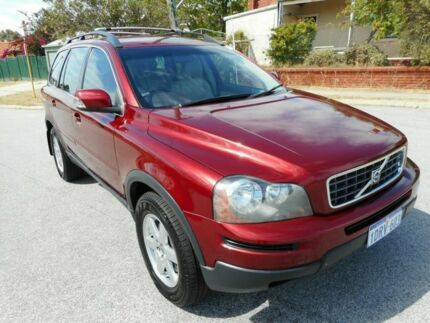 2007 Volvo XC90 MY07 LE Red 5 Speed Auto Geartronic Wagon Maylands Bayswater Area Preview