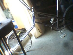 Bicycle  With Sissy bar And spoke Wheels And banana seat