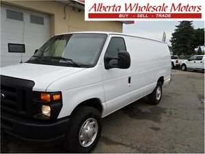 2011 FORD E-250 EXTENDED CARGO VAN COMMERCIAL BUILT IN SHELVE