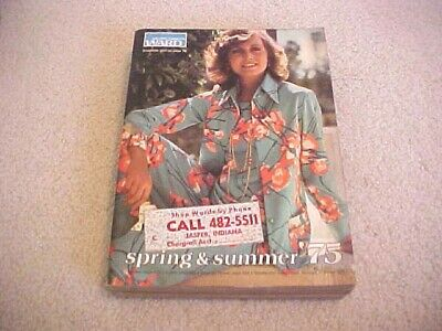 1975 MONTGOMERY WARD LARGE SPRING AND SUMMER  CATALOG