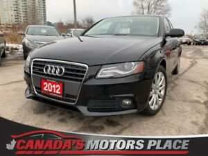 2012 Audi A4 2.0T 2.0T- LOADED-SUPER CLEAN