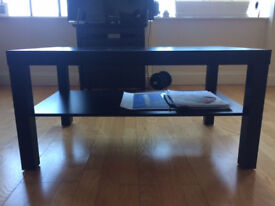 Selling used black coffee table (moving abroad)