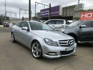 2011 Mercedes-Benz C-Class C204 C350 BlueEFFICIENCY 7G-Tronic + Silver 7 Speed Sports Automatic Granville Parramatta Area Preview