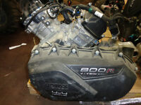 CAM AM 800 ENGINE RENEGADE 800 XXC WITH TRANNY/CLUTCHES 2015