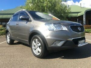 2011 Ssangyong Korando C200 SX Grey Sports Automatic Wagon