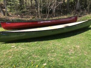 Black Spruce fibre lite expedition 16.6 ft canoes instock