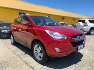 2013 Hyundai ix35 LM2 Active Red/Black 6 Speed Sports Automatic Wagon