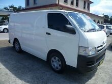 2009 Toyota Hiace TRH201R MY07 Upgrade LWB White 5 Speed Manual Van South Nowra Nowra-Bomaderry Preview