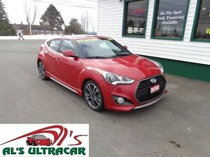 2016 Hyundai Veloster Turbo only $148 bi-weekly all in!
