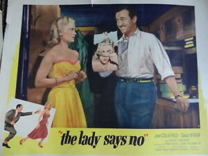 Vintage Movie Lobby Card Collection of 30 Originals-Rare 1950's London Ontario image 8