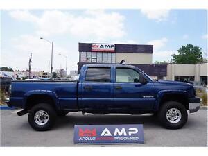 2005 Chevrolet Silverado 2500HD Lifted 4x4LTZ Custom Diesel DVD