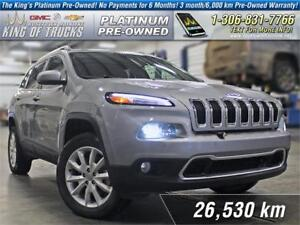 2015 Jeep Cherokee Limited Local   One Owner   Nav