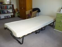 Folding Single Bed with mattress