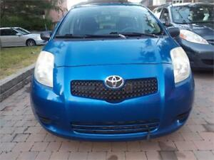 2007 Toyota Yaris MANUELLE SPECIAL
