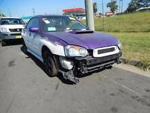 Subaru Impreza WRX 11/04 5 Speed Manual Wrecking Canley Vale Fairfield Area Preview