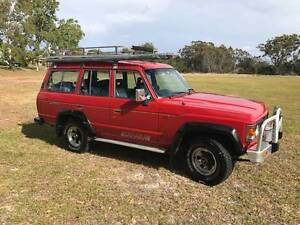 1986 Toyota Landcruiser Sahara Wagon Gympie Area Preview
