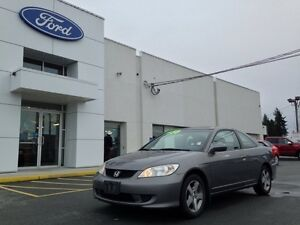 2005 Honda Civic Si-G with Sunroof, Power Options, A/C and a CD