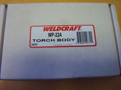 Weldcraft - Wp-22a Torch Body 250a Wc 7 178mm 180 Deg