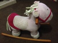 Rocking Horse for sale, 2-3yr old