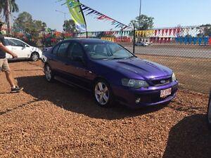 2004 Ford Falcon XR8 Purple 4 Speed Automatic Sedan Hidden Valley Darwin City Preview