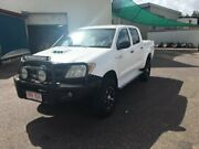 2007 Toyota Hilux KUN26R 07 Upgrade SR (4x4) White 5 Speed Manual Dual Cab Pick-up Berrimah Darwin City Preview