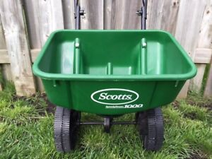 Weed Control spreader - - Scotts