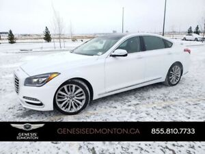 2018 Genesis G80 5.0 Ultimate AWD (2 sets tires/wheels)