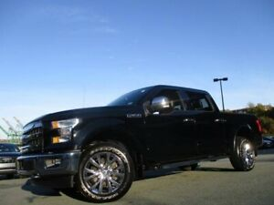 2017 Ford F-150 Lariat (CLEAN CARFAX! 5.0L V8, HEATED/COOLED LEA