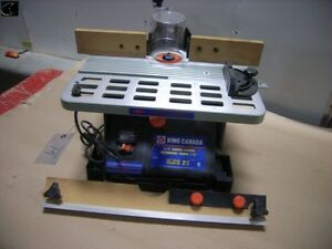 "Like new king Canada 1/2"" wood shaper *2HP*"