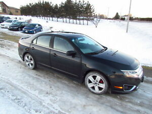 2010 Ford Fusion Sport: LOADED! AWD! LEATHER! NAV! SUNROOF!