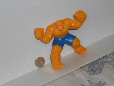 Vtg. 2010 McDonald's Kids Meal Toys: Marvel Comics Fantastic Four The Thing Toy