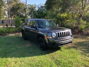 2014 Jeep Patriot MK MY14 Blackhawk CVT Auto Stick 4x2 Grey 6 Speed Constant Variable Wagon Capalaba Brisbane South East Preview