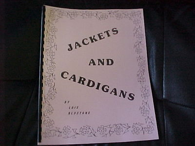 "Jackets & Cardigans  Ladies Sizes 36"" through 52"""